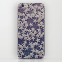 starry night iPhone & iPod Skins featuring Starry Starry Night (1) by Karin Elizabeth