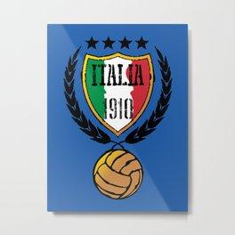 Italia Retro  Metal Print