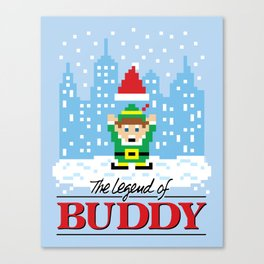 The Legend of Buddy Canvas Print