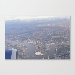London From The Air Canvas Print