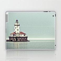 Chicago Harbor Lighthouse Laptop & iPad Skin