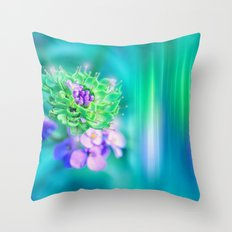 The Sound of Light and Color - MINT Throw Pillow