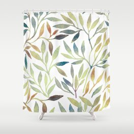 Leaves 5 Shower Curtain