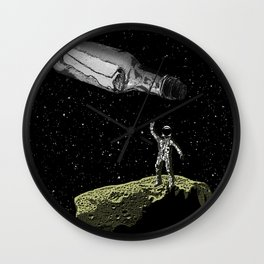 Space Castaway Wall Clock