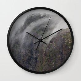 Madeira Fog Wall Clock