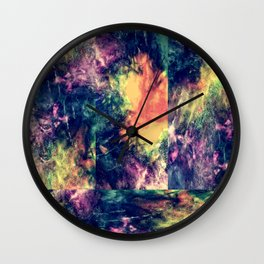 Color You Are Drunk, Again Wall Clock