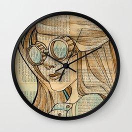 Iron Woman 1 Wall Clock
