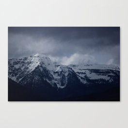 DARK MTNS Canvas Print