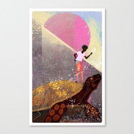 Greeting Canvas Print
