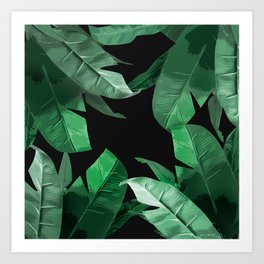 f61f3c6d1 Tropical Palm Print #3 Art Print