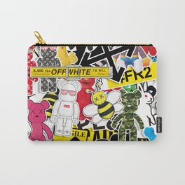 Kaws Bff design 11 Carry-All Pouch