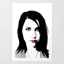 Polly Jean Art Print