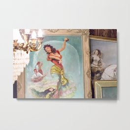 The Gypsy Dancer And The Musicians Metal Print