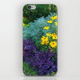 Floral Print 018 iPhone Skin