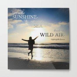 Wild Air Metal Print