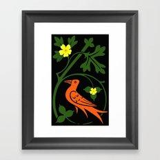 Pugin's Birds Framed Art Print