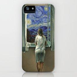 Dalí x Van Gogh iPhone Case
