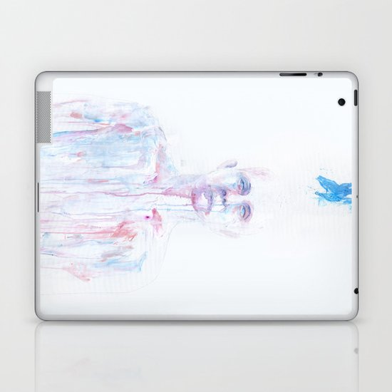 Last Blue Breath Laptop & iPad Skin