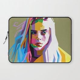 Billie Eilish - pop art Laptop Sleeve