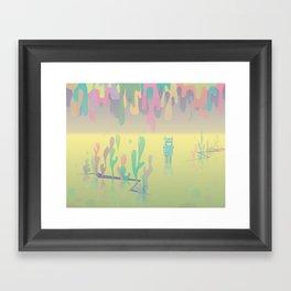 one more world Framed Art Print