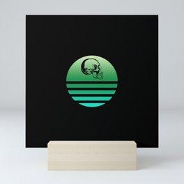 Retro Skull 7 Mini Art Print