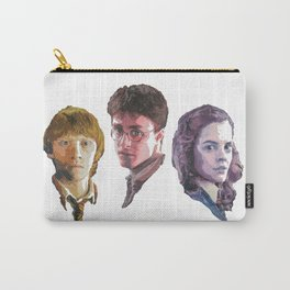 Ron, Harry & Hermione Carry-All Pouch