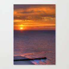 Kent Sunrise Canvas Print