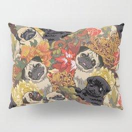 Because Pugs Autumn Pillow Sham