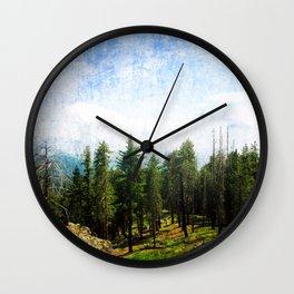 California Overlook Wall Clock