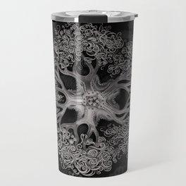 Jellyfish (Black and White) Travel Mug
