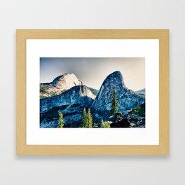 Yosemite Liberty Cap, Mt Broderick Framed Art Print