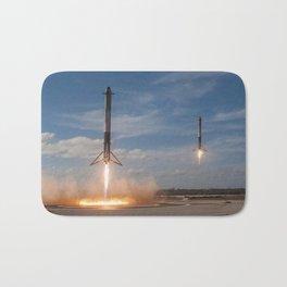 SpaceX Falcon Heavy Boosters Landing Bath Mat