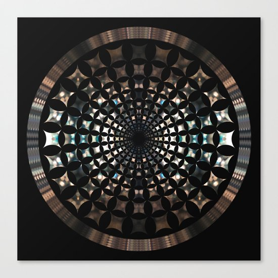 Shaped Lights #5 Canvas Print