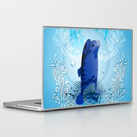 walrus Laptop & iPad Skins featuring Cute walrus  by nicky2342