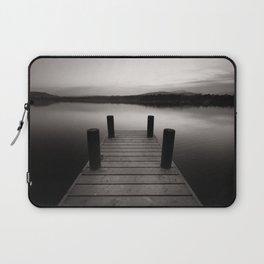 Wooden jetty on lake Windermere Laptop Sleeve