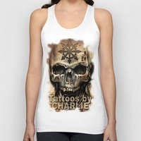 tattoos Tank Tops featuring Tattoos by Charlie by Charlie