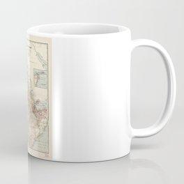 The Nile River Valley Map (1910) Coffee Mug