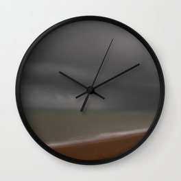 Storm in the Channel Wall Clock