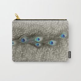 Peacock Summer Carry-All Pouch