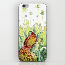 Pitcher Plants iPhone Skin