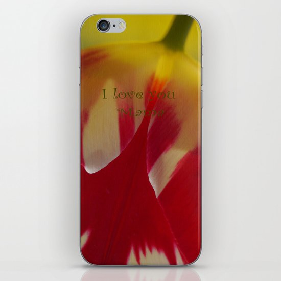 Multi-Color Tulip for a Mom iPhone & iPod Skin