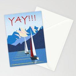 Mountain Landscape Scenery Stationery Cards
