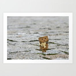 I'm on the world alone and yet not alone enough ... Art Print