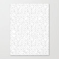 Geometric Camo Canvas Print