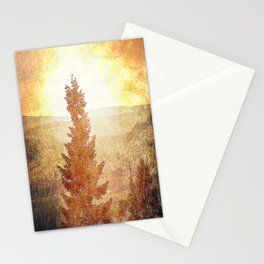 Vintage Forest Nature Stationery Cards