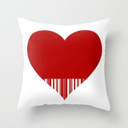 lovecode Throw Pillow