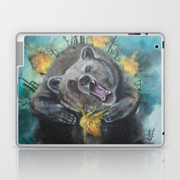 """Lice in the fur"" - Bear Laptop & iPad Skin"