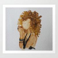 malachite Art Prints featuring Malachite by Aly McKnight