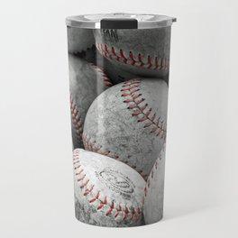 Vintage Baseballs Travel Mug