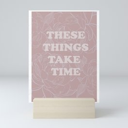The best of (These things take time-The Smiths) Mini Art Print